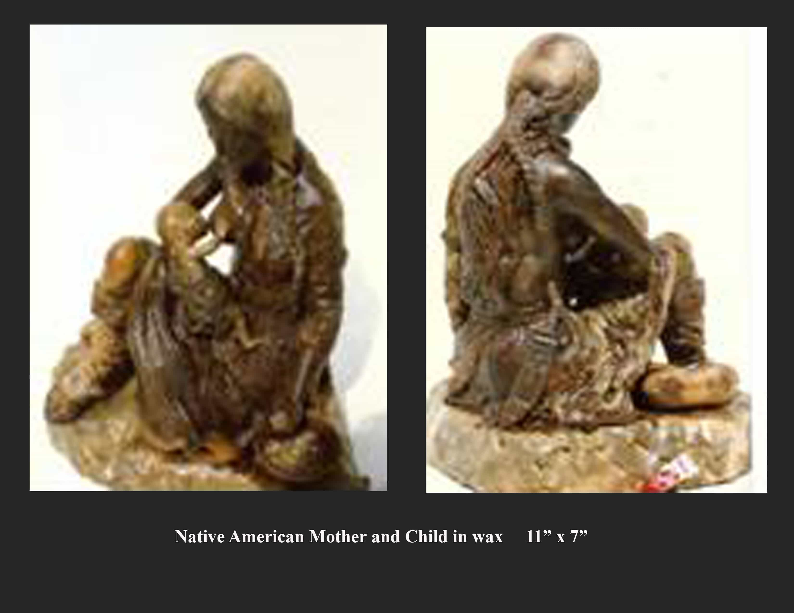 Mother and Child - Bronze Sculpture Proposal Image