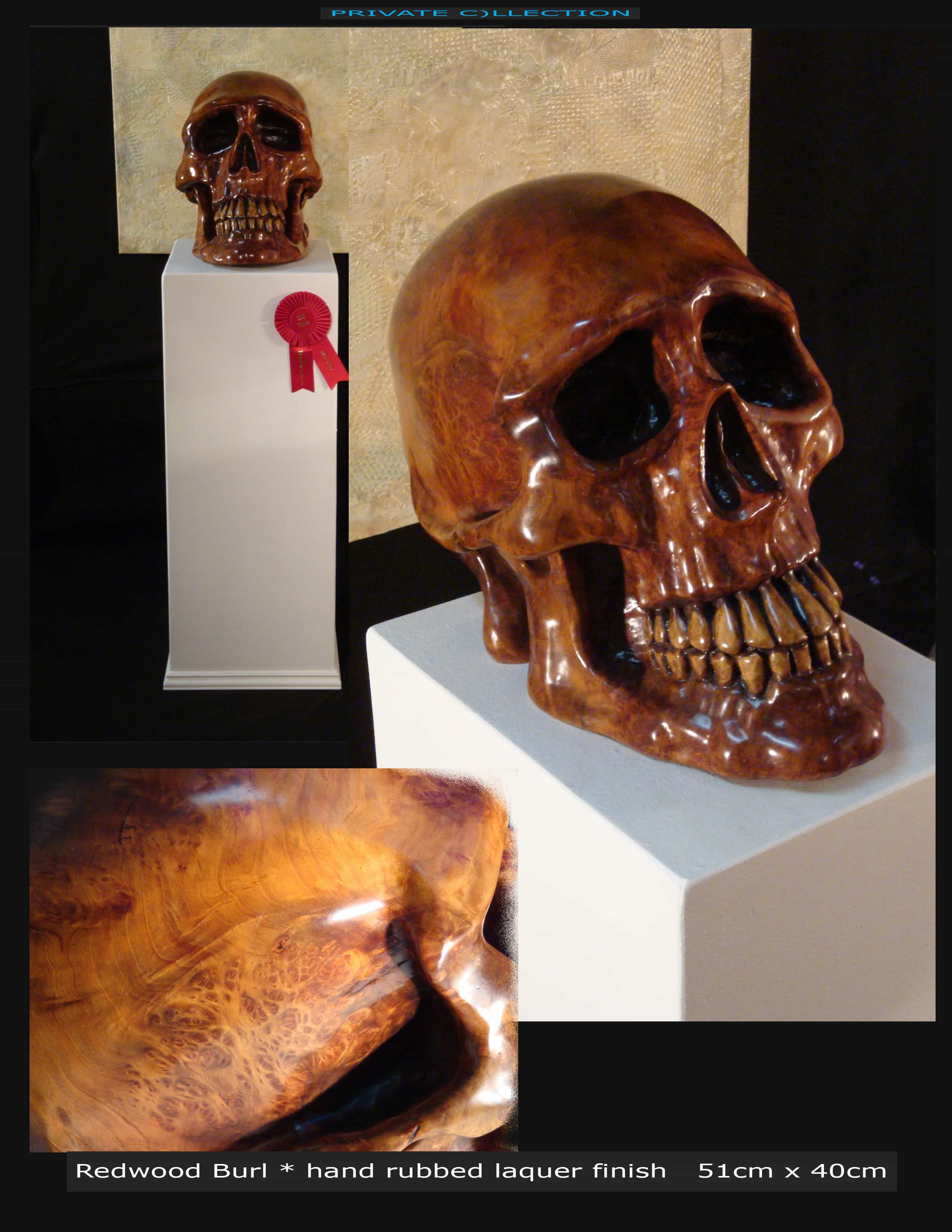 Redwood Burl Skull Image