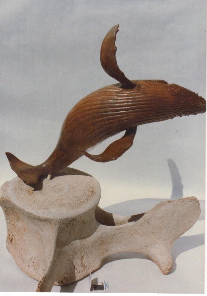 Breaching Whale - Bronze - Wax Model Proposal view001 - Image