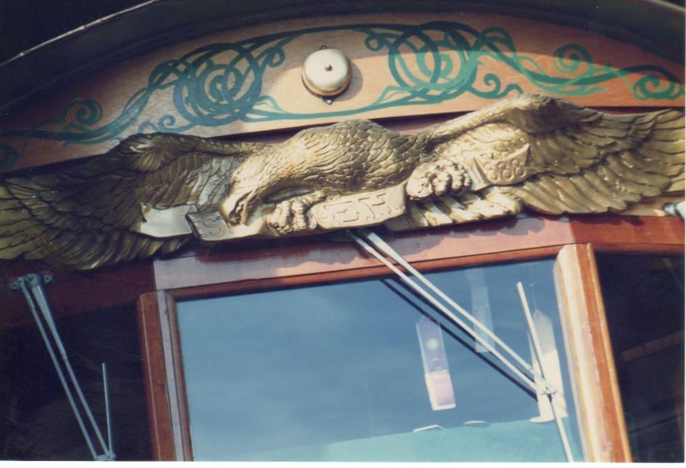 Eagle House Victorian Inn Eureka,CA Tourist Trolley